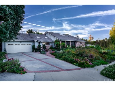 Tarzana Single Family Home For Sale: 5007 Veloz Avenue
