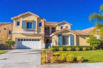 Saugus Single Family Home For Sale: 28558 Horseshoe Circle