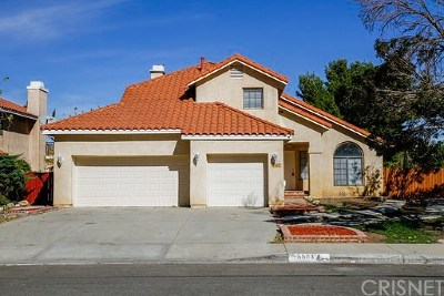 Quartz Hill Single Family Home For Sale: 5503 West Avenue L4