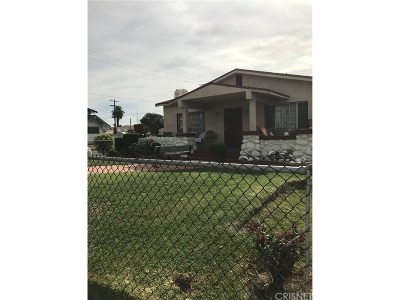 Mid Los Angeles (C16) Single Family Home For Sale: 1536 47th Street West