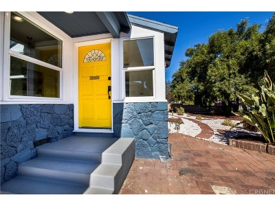 North Hollywood Single Family Home For Sale: 6421 Bonner Avenue