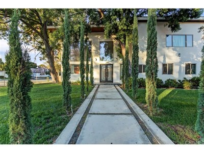 Sherman Oaks Single Family Home For Sale: 15373 Valley Vista Boulevard