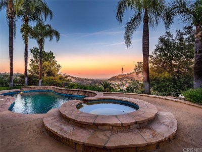 Calabasas CA Single Family Home For Sale: $1,685,000