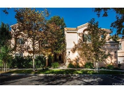 Stevenson Ranch Condo/Townhouse For Sale: 25148 Steinbeck Avenue #E
