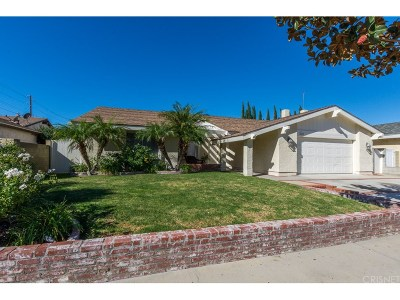 Simi Valley Single Family Home For Sale: 2419 Sweetwood Street