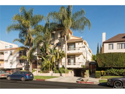 Sherman Oaks Condo/Townhouse For Sale: 15027 Dickens Street #6