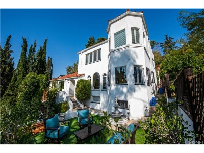 Single Family Home Active Under Contract: 6631 Cahuenga