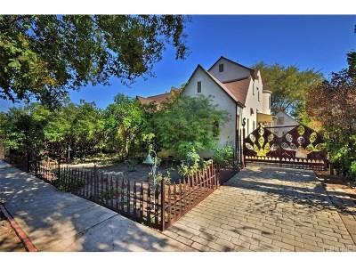 Sherman Oaks Single Family Home For Sale: 4718 Vesper Avenue