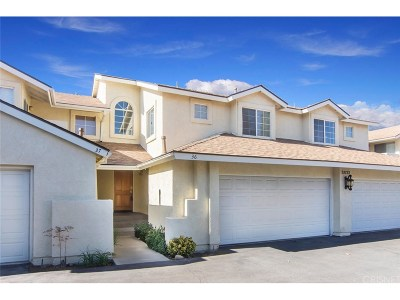 Saugus Condo/Townhouse For Sale: 28133 Seco Canyon Road #36