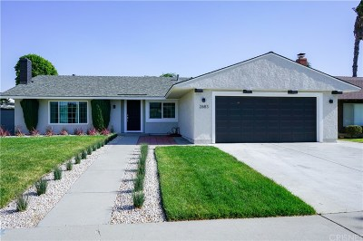 Single Family Home For Sale: 2638 Valencia Court
