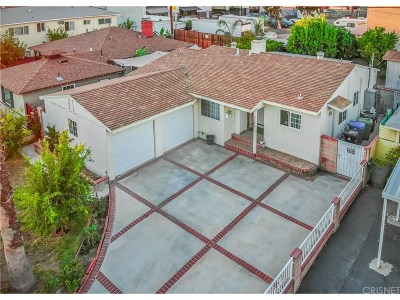 North Hollywood Single Family Home For Sale: 12549 Barbara Ann Street