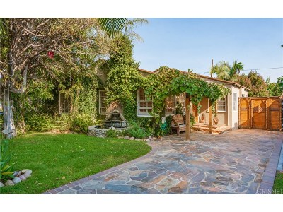 North Hollywood Single Family Home For Sale: 4940 Arcola Avenue
