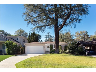 Sherman Oaks Single Family Home For Sale: 4835 Norwich Avenue