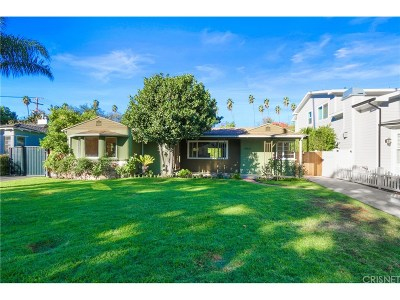 Studio City Single Family Home For Sale: 4431 Ethel Avenue