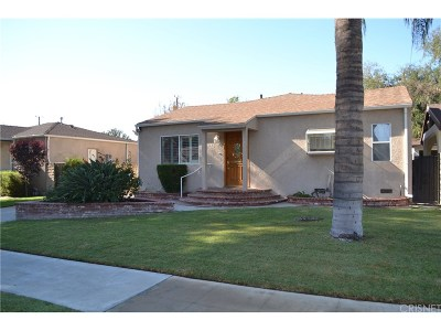 Burbank Single Family Home For Sale: 631 North Maple Street