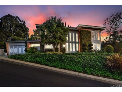 Studio City Single Family Home Sold: 11428 Dona Lola Drive