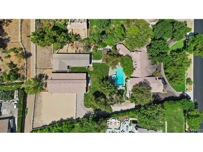 Single Family Home For Sale: 24024 Long Valley Road