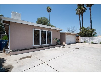 San Fernando Single Family Home For Sale: 11703 Herrick Avenue