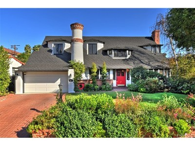 Toluca Lake Single Family Home For Sale: 4440 Placidia Avenue