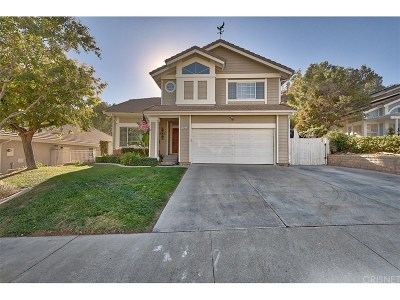 Saugus Single Family Home For Sale: 28109 Caraway Lane