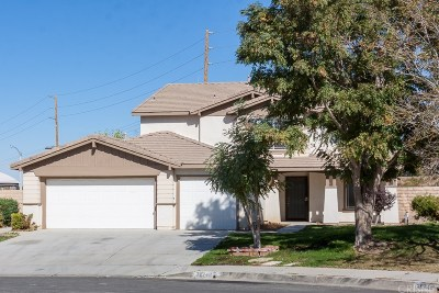 Palmdale Single Family Home For Sale: 38748 Annette Avenue