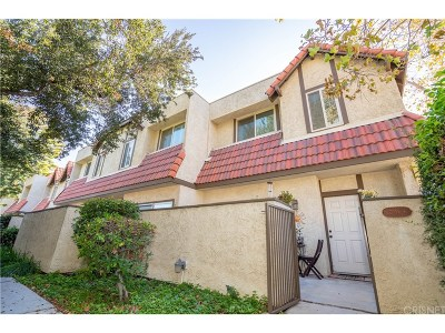 Canyon Country Condo/Townhouse For Sale: 27656 Ironstone Drive #6