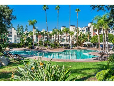 Woodland Hills Condo/Townhouse For Sale: 5565 Canoga Avenue #318