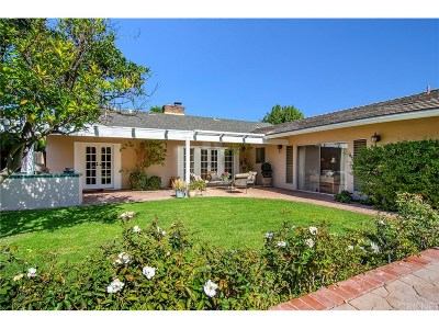 Encino Single Family Home Sold: 16544 Greenleaf Street