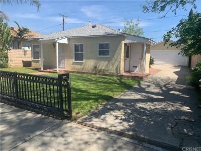 San Fernando Single Family Home For Sale: 613 Kewen Street