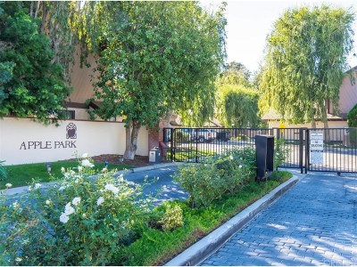 Newhall Condo/Townhouse For Sale: 24843 Apple Street #B