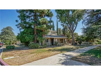 Single Family Home For Sale: 11034 White Oak Avenue