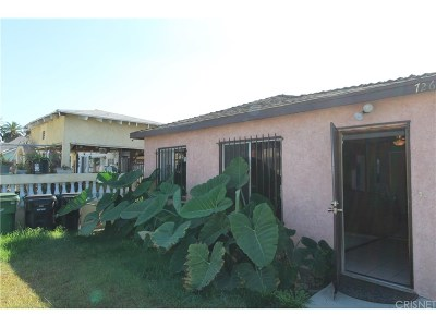 Los Angeles Single Family Home For Sale: 726 East 109th Place