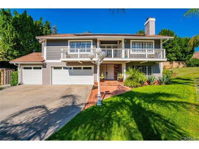 Single Family Home For Sale: 17341 Flower Hill Circle