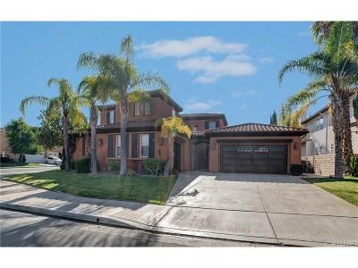 Stevenson Ranch Single Family Home For Sale: 26802 Alcott Court