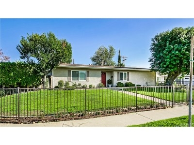 Chatsworth Single Family Home For Sale: 9668 Fullbright Avenue