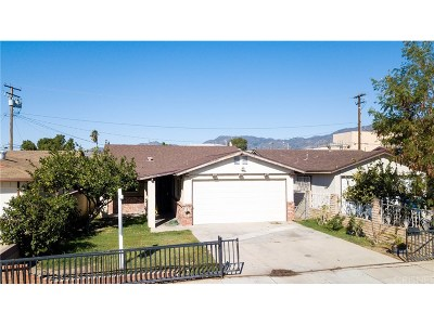 San Fernando Single Family Home For Sale: 939 North Macneil Street
