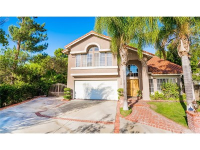 Saugus Single Family Home For Sale: 28754 Shadow Valley Lane