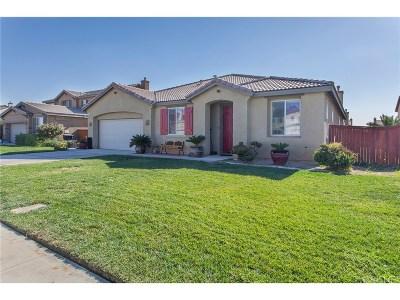 Rosamond Single Family Home For Sale: 2416 Alpaca Avenue