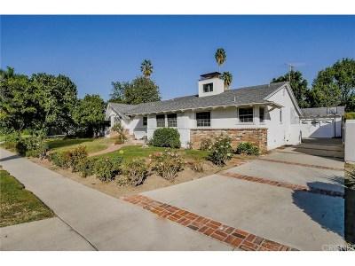 Northridge Single Family Home For Sale: 9242 Whitaker Avenue