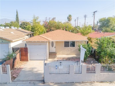 San Fernando Single Family Home For Sale: 1411 Hollister Street