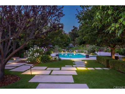 Sherman Oaks Single Family Home For Sale: 3274 Longridge Avenue