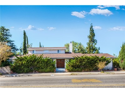 Single Family Home For Sale: 11019 Zelzah Avenue