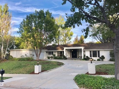 Woodland Hills Single Family Home For Sale: 5200 Del Moreno Drive
