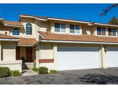 Saugus Condo/Townhouse For Sale: 28423 Seco Canyon Road #172