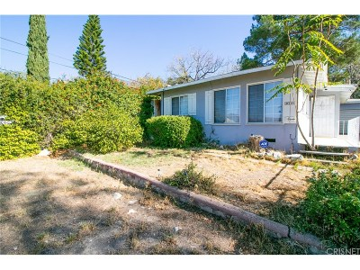 Tujunga Single Family Home Active Under Contract: 10314 Silverton Avenue