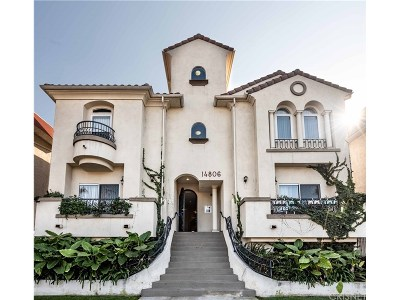 Sherman Oaks Condo/Townhouse For Sale: 14806 Burbank Boulevard #6