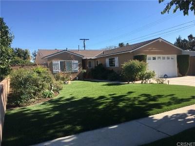 Single Family Home For Sale: 8748 Valjean Avenue