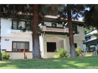 Hollywood Single Family Home For Sale: 1815 North Wilton Place