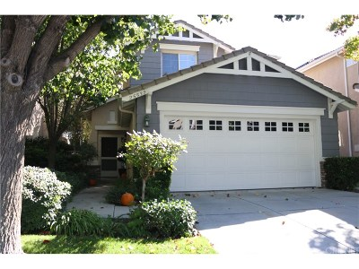 Stevenson Ranch Single Family Home For Sale: 25532 Burns Place