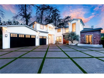 Encino Single Family Home For Sale: 4421 Haskell Avenue